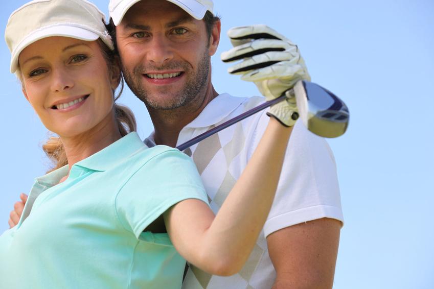 Natural Booster beim Golf